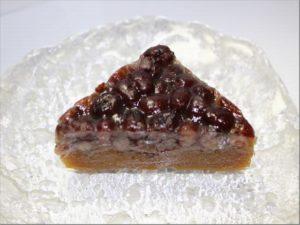 笹屋伊織の水無月(黒糖)