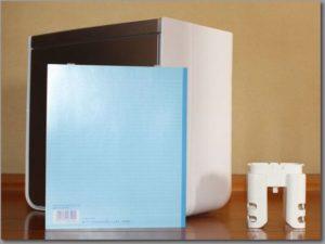 布団乾燥機の大きさをB5サイズのノートと比較