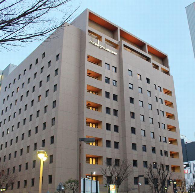 三井ガーデンホテル岡山の外観